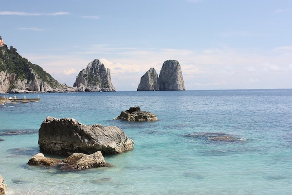 viaggio di nozze a Capri