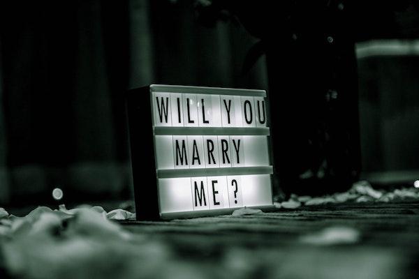matrimonio proposta