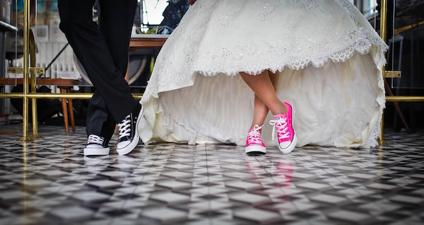 scarpe da sposa comode