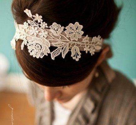 fascia capelli da abito da sposa